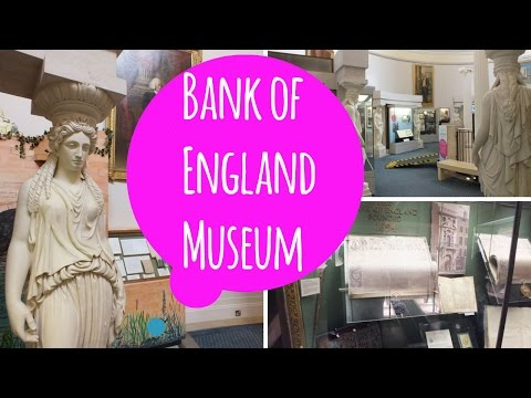 London Newsflash: Bank of England Museum | Travel Blog | Traveling | UK | Eurotrip