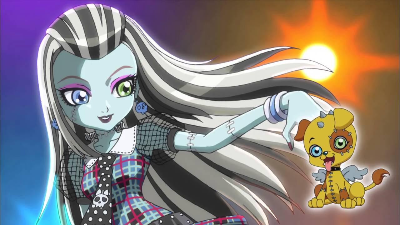 u0026quot scary monster high u0026quot  anime opening by amorecarina feat  chu-z kaede