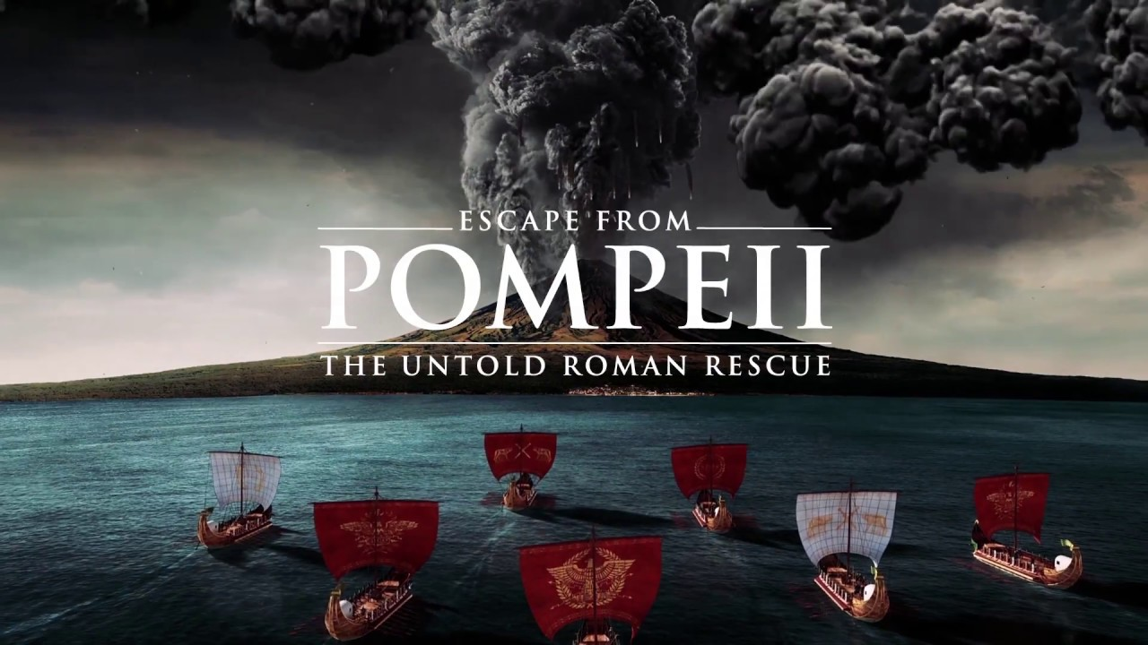 Escape from Pompeii: the untold Roman rescue - YouTube