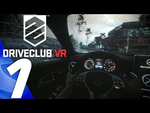 Driveclub VR - Gameplay Walkthrough Part 1 - Prologue [1080p 60fps] PS VR