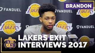 Brandon Ingram On Summer Workout Plans With Kobe Bryant, Leading This Team