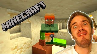 PLAYING ON PEWDIEPIES MINECRAFT SEED!