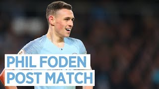 FODEN'S FIRST LEAGUE START | CITY 2-0 CARDIFF