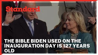 Brief history behind the Bible President Joe Biden used on the Inauguration day