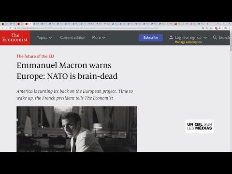 Emmanuel Macron parle