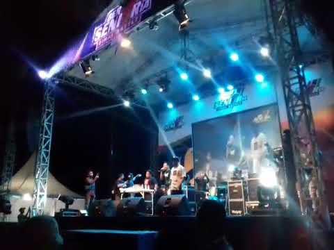 NDX AKA Launching lagu terbaru - Konco Tekan Mati Live Lap. BRIMOB Pati