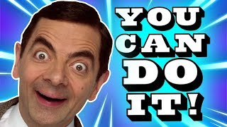 You Can Do It! | NEW Mr Bean Music Video | Mr Bean Official