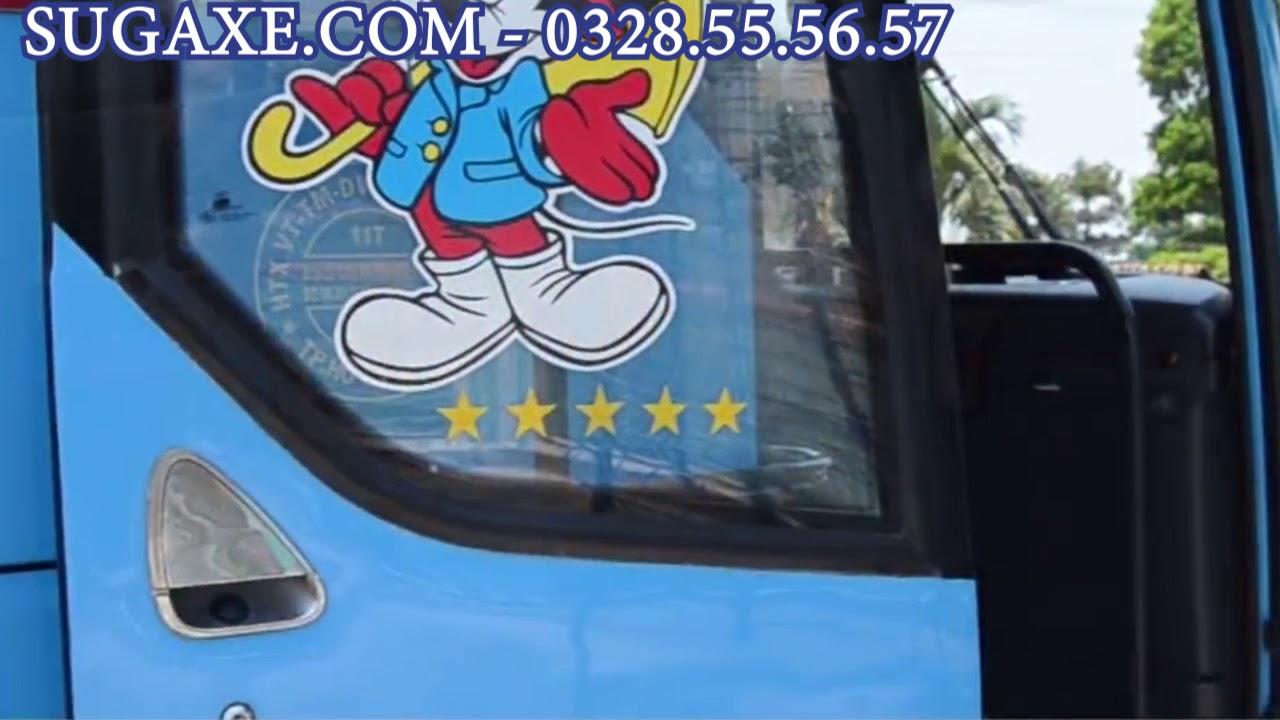 Sugaxe.com – DỊch vụ thuê xe du lịch 45 chỗ tại TPHCM