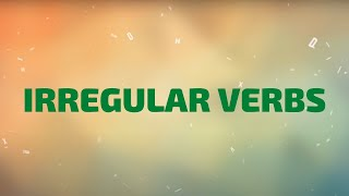 Download lagu Irregular Verbs | Learn All Irregular Verbs in One Song