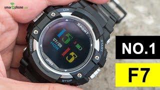 NO.1 F7 - смарт-часы с цветным экраном и 21 день автономности