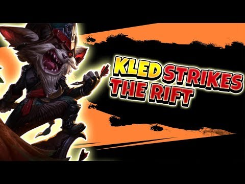 KLED MASTER OF DESTRUCTION! SOLOCARRY ON KLED EASY LIKE THIS - League of Legends Full Gameplay thumbnail