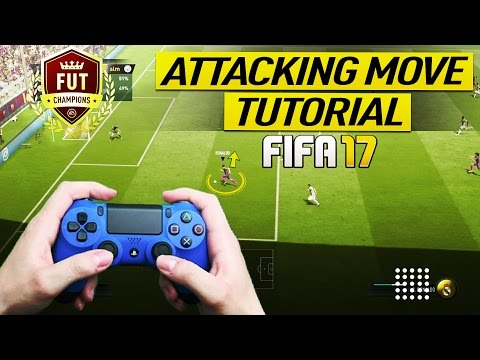FIFA 17 PRO PLAYERS BEST ATTACKING MOVE TUTORIAL - HOW TO CREATE SCORING CHANCES