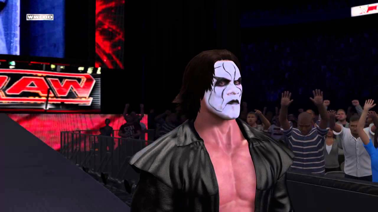 Sting Entrance WWe 2k15 Ps4 - YouTube
