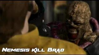 Resident Evil 3   Nemesis kill Brad
