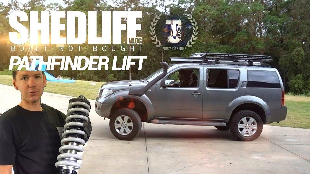 Pathfinder Lift Kit - #SHEDLIFE - YouTube