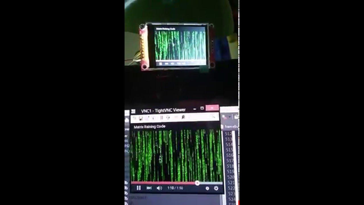Entrant 22 : VNC LCD - Everything ESP8266
