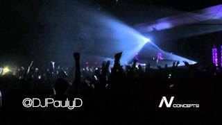 DJ Pauly D - Live at The Mass Mutual Center (Official Video)