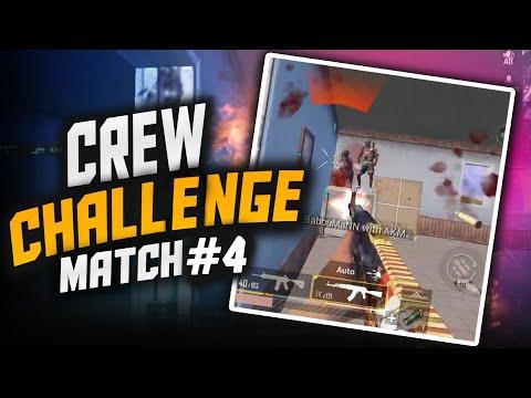 4 MATCHES 4 WINS    CREW CHALLENGE HIGHLIGHTS    MATCH #4