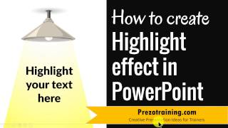 Highlight Effect in PowerPoint (CREATIVE TEXT HIGHLIGHT)