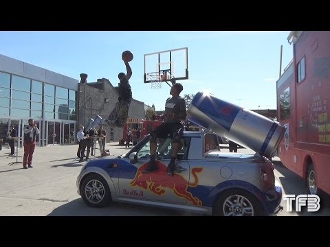 Team Flight Brothers vs the Red Bull NYC Car at SportsFestNYC #SCTop10