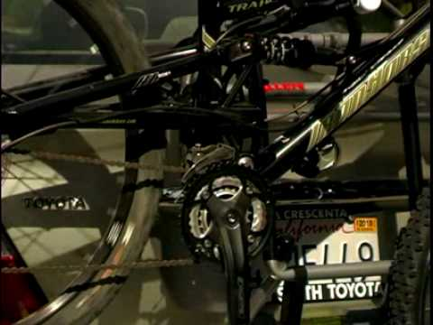 Allen Sports Usa Installing A Bicycle On A 103s Trunk Rack Youtube