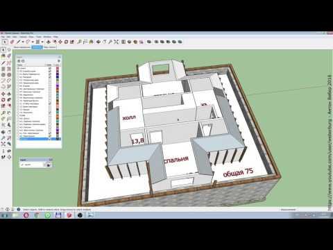 Конструкция вальмовой крыши устройство и чертежи фото