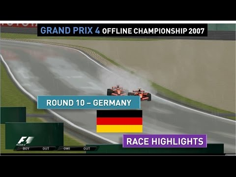 Grand Prix 4 OC 2007   Round 10   Europe   Race Highlights