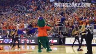 Rowdy Reptiles Flash Mob: UF vs. Kansas