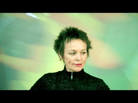 Laurie Anderson in concert at Luminato Festival