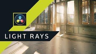Efekt, który WARTO znać - LIGHT Rays ▪ DaVinci Resolve #31 | Poradnik ▪ Tutorial