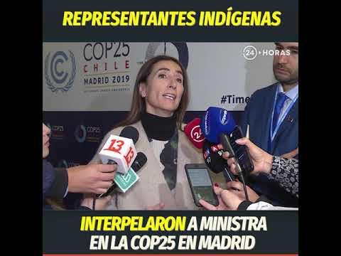 Representantes Indígenas Interpelaron A Ministra En La Cop25 En Madrid | 24 Horas TVN Chile