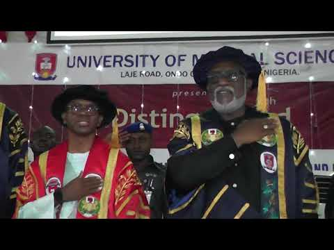 4th distinguished guest lecture of the University of Medical Sciences, UNIMED, Ondo