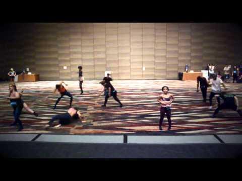 Lost At Sea by Zedd feat Ryan Tedder at  Pulse Dallas - Brian Friedman Choreography
