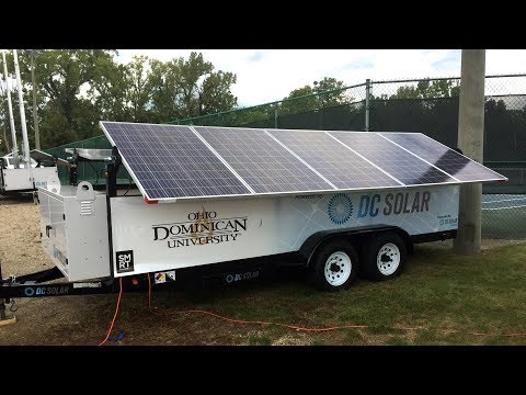 Smart Columbus: Solar Technology at Ohio Dominican University