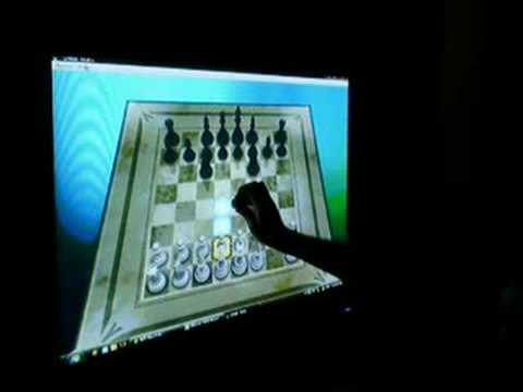Wiimote Chess Board