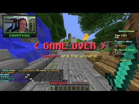 MA ASCUND CU IUBITA MEA !!! Minecraft Hide And Seek   Episodul 22 !