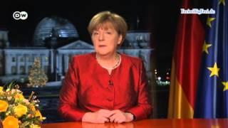 Neujahrsansprache Merkel 2016 - Verhöhnung ihrer Steuersklaven