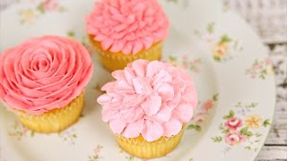 Amazing Buttercream Flower Cupcakes - CAKE STYLE