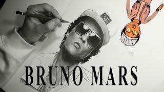 DRAWING BRUNO MARS By Guilherme Filipe