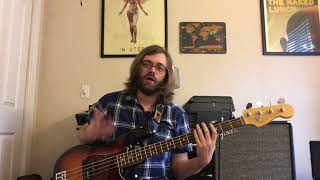 Aerosmith - Last Child Bass Lesson