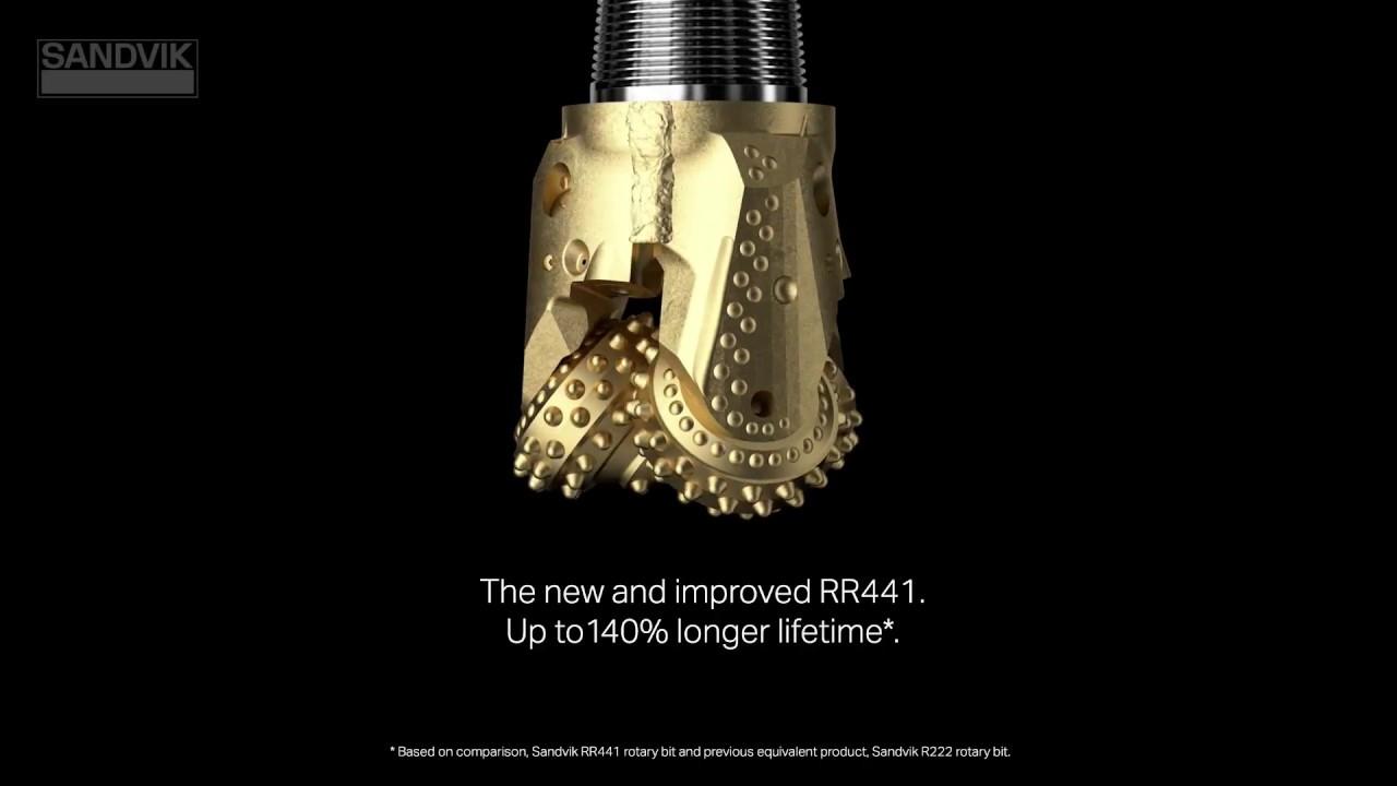 Sandvik RR441 - Improved drilling