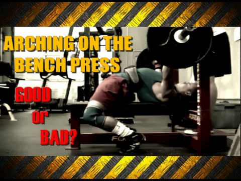 1641869fc8fd Bench Press Technique Arched Back - YouTube