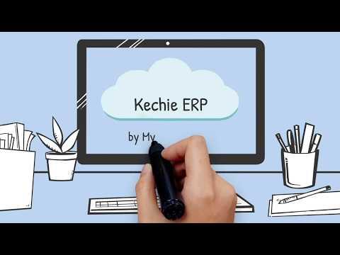 Kechie ERP - Next Generation Cloud ERP Software