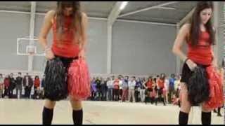 Chorégraphie des Pom-Poms - Derby Aller