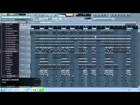 Lil Wayne - Lollipop (With Acapella) (Best On YouTube) 720p (FLP Remake + download)