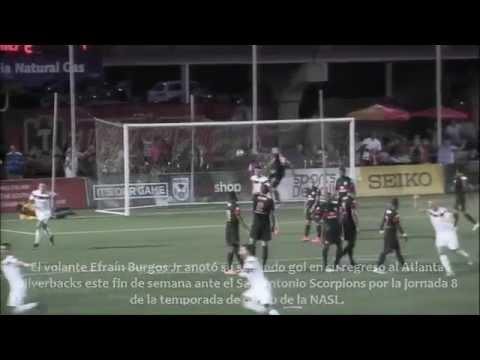 Gol Efraín Burgos Atlanta Silverbacks - San Antonio Scorpions