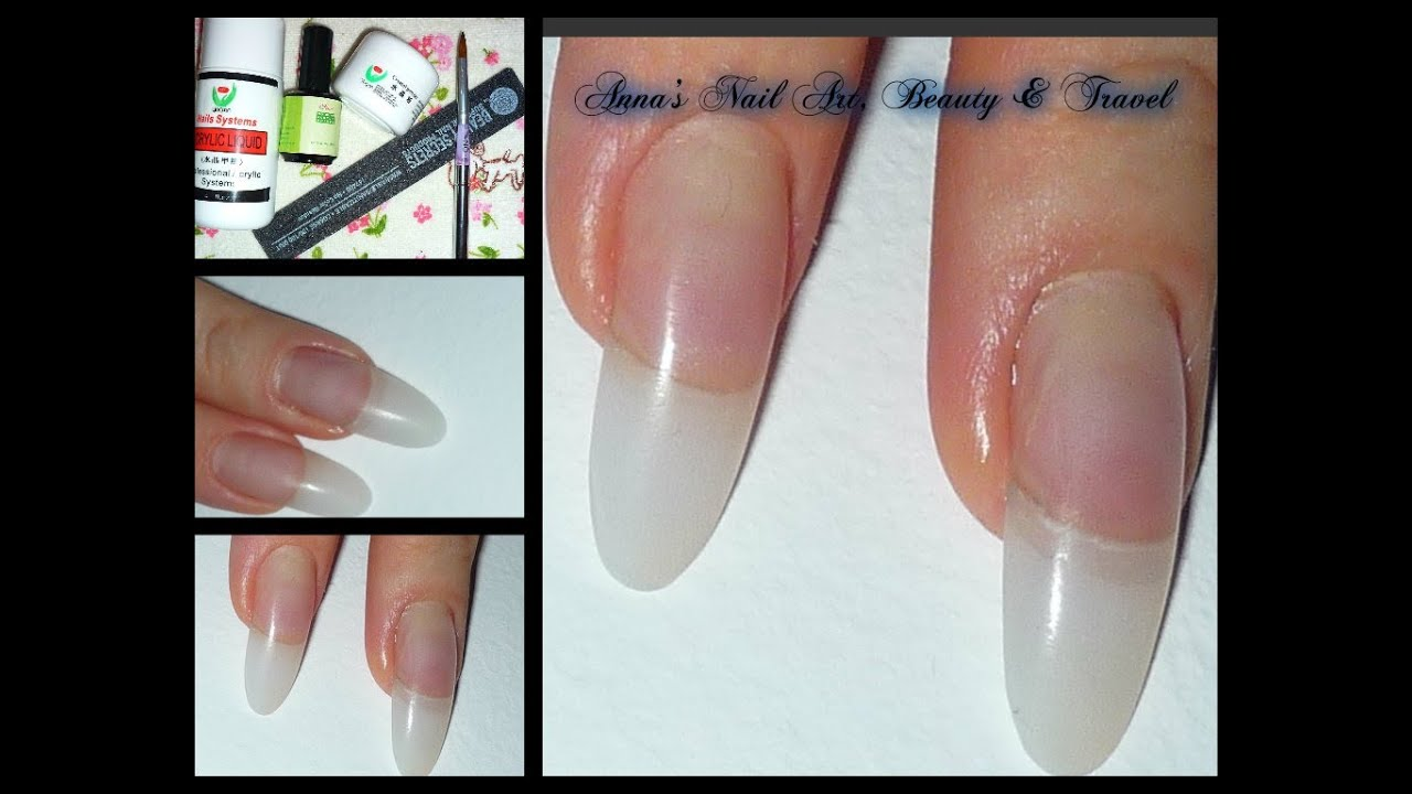 Acrylic Nails Refill - YouTube