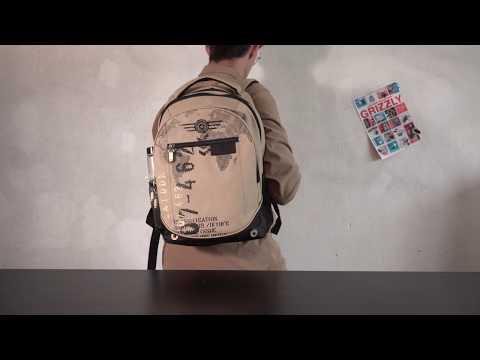 Видеообзор мужского рюкзака с тремя отделениями GRIZZLY RU-501-1