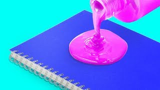 10 COLORFUL NOTEBOOKS YOU CAN DIY