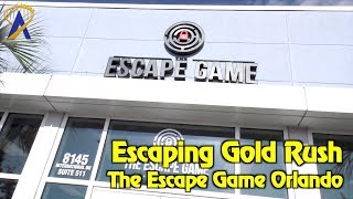 Escaping From Gold Rush At The Escape Game Orlando